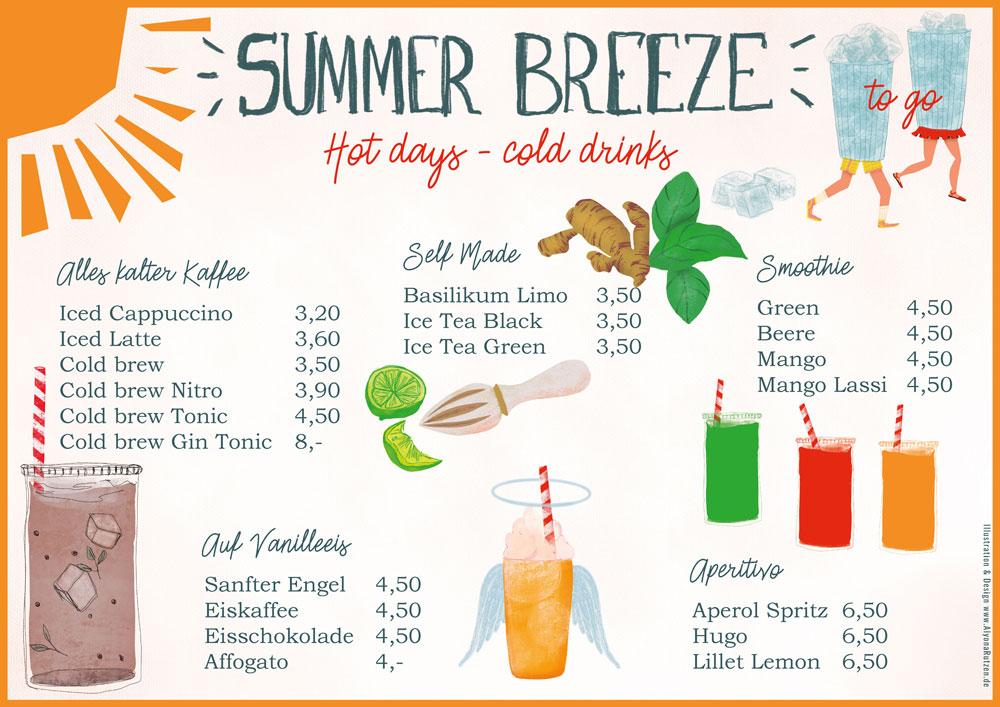 BCP Karte Sommer