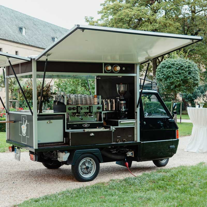 Black Coffee Pharmacy mobile Bar Ape